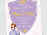 Sofia the First Birthday Invites sofia the First Birthday Party Invites Inspiration Made