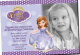 Sofia the First Birthday Invites sofia the First Invitation Printable Birthday Party Invite