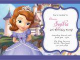 Sofia the First Custom Birthday Invitations Custom Photo Invitations Disney sofia the First Birthday