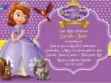 Sofia the First Custom Birthday Invitations How to Create sofia the First Birthday Invitations Designs