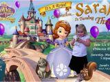 Sofia the First Custom Birthday Invitations sofia the First Birthday Party Invitations Custom Photo