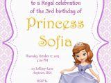 Sofia the First Custom Birthday Invitations sofia the First Party Invitations sofia the First Party