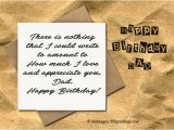 Something Special to Write In A Birthday Card Birthday Wishes for Dad 365greetings Com