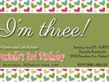 Son Birthday Invitation Wording son Birthday Invitation Wording 3rd Birthday Invitation