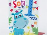 Son First Birthday Card 1st Birthday Card Special son Only 1 49