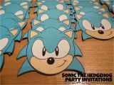 Sonic Birthday Invitation Templates and who Says You Can 39 T sonic the Hedgehog Birthday Party