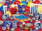 Sonic Birthday Party Decorations Birthdayexpress Com Hosts Sega sonic Sweepstakes On Facebook