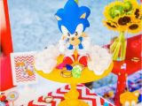 Sonic Birthday Party Decorations Kara 39 S Party Ideas sonic themed Birthday Party Via Kara 39 S