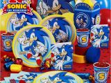 Sonic Birthday Party Decorations sonic Party sonic News Network the sonic Wiki