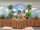 Sonic Birthday Party Decorations sonic the Hedgehog Birthday Party Ideas sonic
