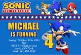 Sonic the Hedgehog Birthday Invitations sonic the Hedgehog Birthday Invitations Dolanpedia