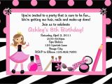 Spa Birthday Party Invitations for Kids Kids Spa Party Invitations Home Party Ideas