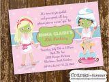 Spa Day Birthday Invitations Spa Birthday Invitation Spa Day Pamper Invite Girls