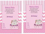 Spa themed Birthday Party Invitations Printable Spa Party Invitation Printable