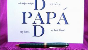 Spanish Birthday Cards for Dad Items Similar to Father 39 S Day Card Card for Dad Dad 39 S