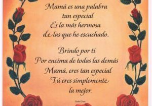 Spanish Birthday Cards for Mom Poems for Mom In Spanish and English Google Search Mom
