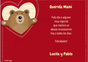 Spanish Birthday Cards for Mom Spanish Mother S Day Cards Printables to Celebrate El Dia