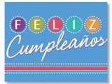 Spanish Birthday Cards Printable Birthday Lights Spanish Birthday Card