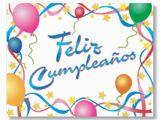 Spanish Birthday Cards Printable Happy Birthday Feliz Cumpleanos Spanish Birthday Card