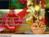 Sparkling Birthday Greeting Cards A Sparkling Birthday Wish Free Happy Birthday Ecards