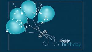 Sparkling Birthday Greeting Cards Sparkling Balloons Birthday Cards From Cardsdirect