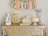 Sparkly Birthday Decorations Kara 39 S Party Ideas Sparkle Shine Glitter Glam Glitzy Girl