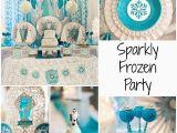 Sparkly Birthday Decorations Sparkle Glitz Glam Frozen Party Ideas Creative Juice