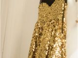 Sparkly Birthday Dresses Dress Glitter Gold Sequins Mesh Fancy Sparkle