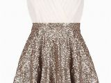 Sparkly Birthday Dresses Glitter Empress Dress Gold Sequin Skirt Bodice and ash