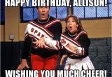 Spartan Birthday Meme Happy Birthday Allison Wishing You Much Cheer Spartan
