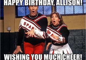 Spartan Birthday Meme Happy Birthday Allison Wishing You Much Cheer Spartan