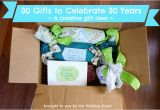 Special 30th Birthday Gift Ideas for Her Creative 30th Birthday Gift Idea the Thinking Closet