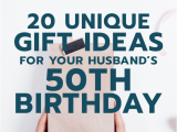 Special 50th Birthday Gifts for Husband Gift Ideas for Your Husband S 50th Birthday He 39 Ll Love