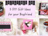 Special Birthday Present Ideas for Him 5 Diy Gift Ideas for Your Boyfriend Youtube