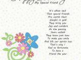 Special Friend Birthday Card Verses Happy Birthday to A Special Friend Happy Birthday Images