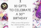 Special Gifts for Her 30th Birthday 30 Gifts for 30th Birthday Modish Main