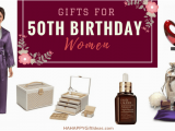 Special Gifts for Her 50th Birthday the Best 50th Birthday Gifts for Women Hahappy Gift Ideas