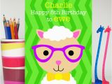 Spencer S Birthday Cards Boy Sheep Birthday Card Spencer the Sheep Colour their Day