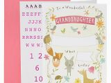 Spencer S Birthday Cards Granddaughter Personalise with Stickers Birthday Card M S