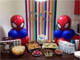 Spiderman Birthday Decoration Ideas Spiderman Birthday Party Decorations Criolla Brithday