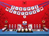 Spiderman Birthday Decoration Ideas Spiderman Birthday Party Ideas Spiderman Birthday Party