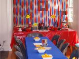 Spiderman Birthday Decoration Ideas the Noatbook Spider Man Party On A Budget