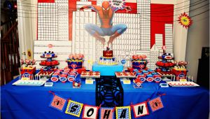 Spiderman Birthday Decoration Ideas the Party Wall Spiderman Birthday Party Part 1 2 as