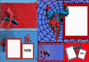 Spiderman Birthday Invitations With Photo Free Printable Cards Or