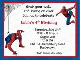 Spiderman Birthday Invites 10 Spiderman Birthday Invitations with Envelopes Free Return
