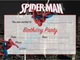 Spiderman Birthday Invites Impress Your Guests with these Spiderman Birthday Invitations