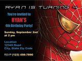 Spiderman Birthday Invites Items Similar to Spiderman Birthday Invitation On Etsy