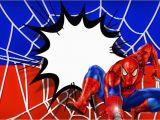 Spiderman Birthday Invites Spiderman Free Printable Invitation Templates