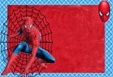 Spiderman Birthday Invites Spiderman Free Printable Invitations Cards or Photo