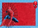 Spiderman Birthday Invites Spiderman Free Printable Invitations Cards or Photo